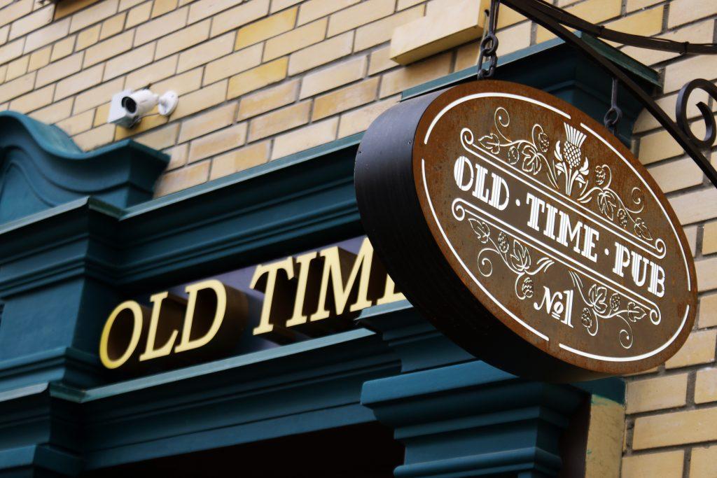 Изготовление вывески для PUB Old Time в Ростове