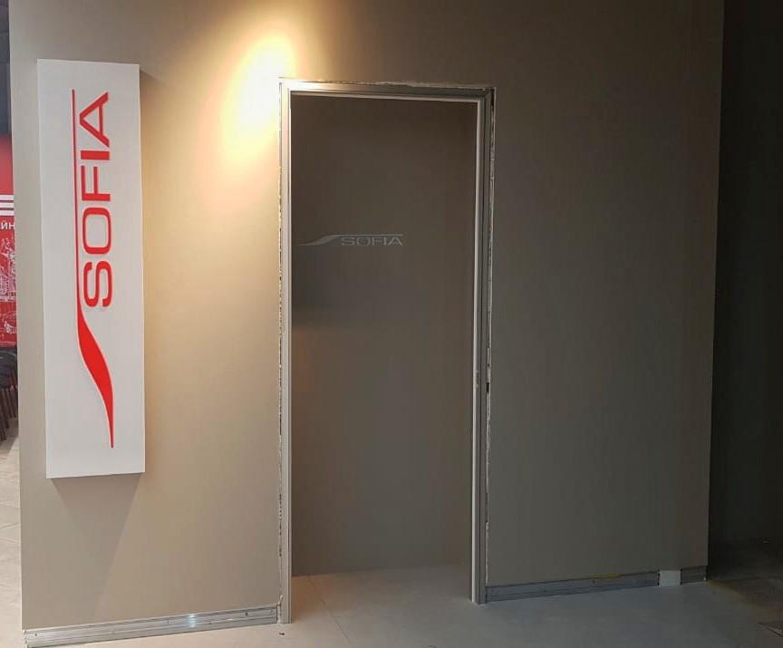Световой короб для магазина «Sofia»